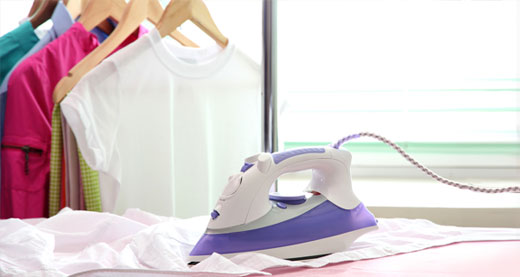 Tips para planchar ropa delicada